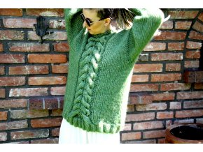 Oversize sweather green