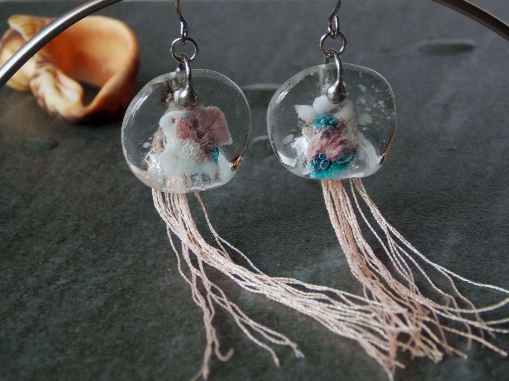 Náušnice Medúzy Andamanské