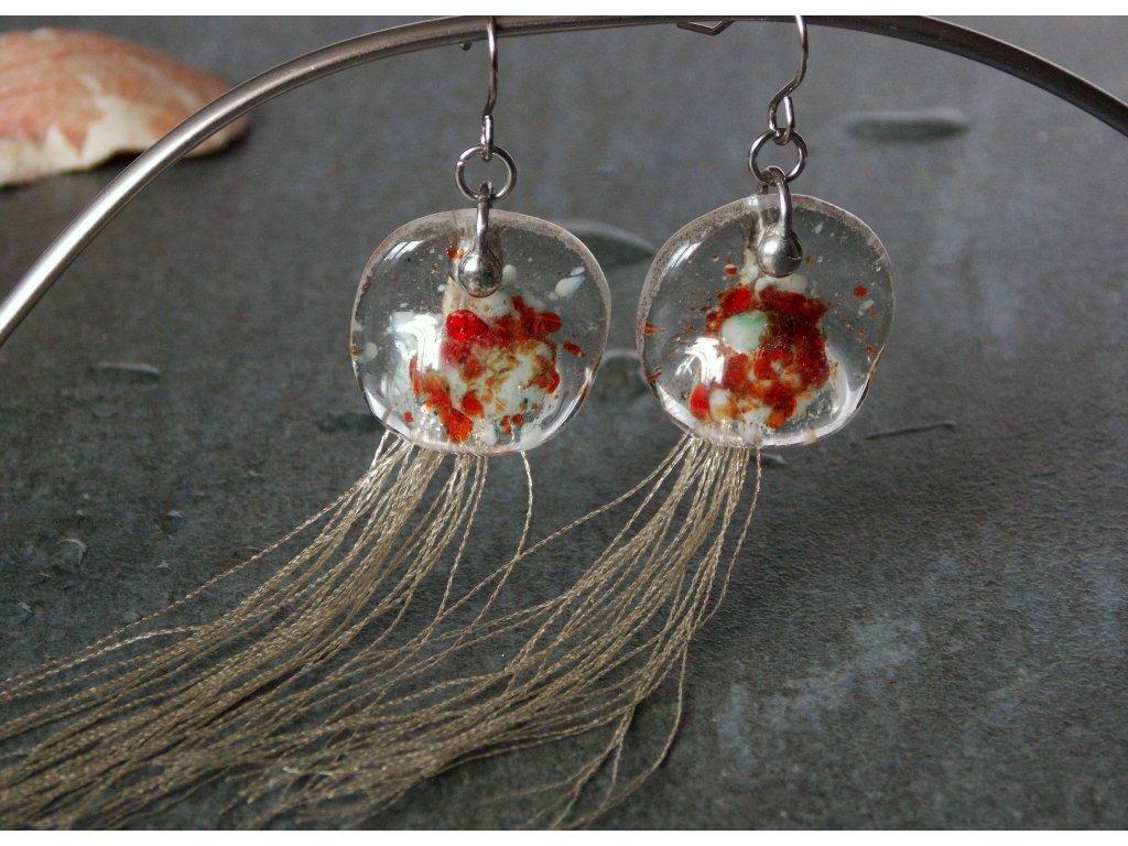 Náušnice Medúzy Timorské