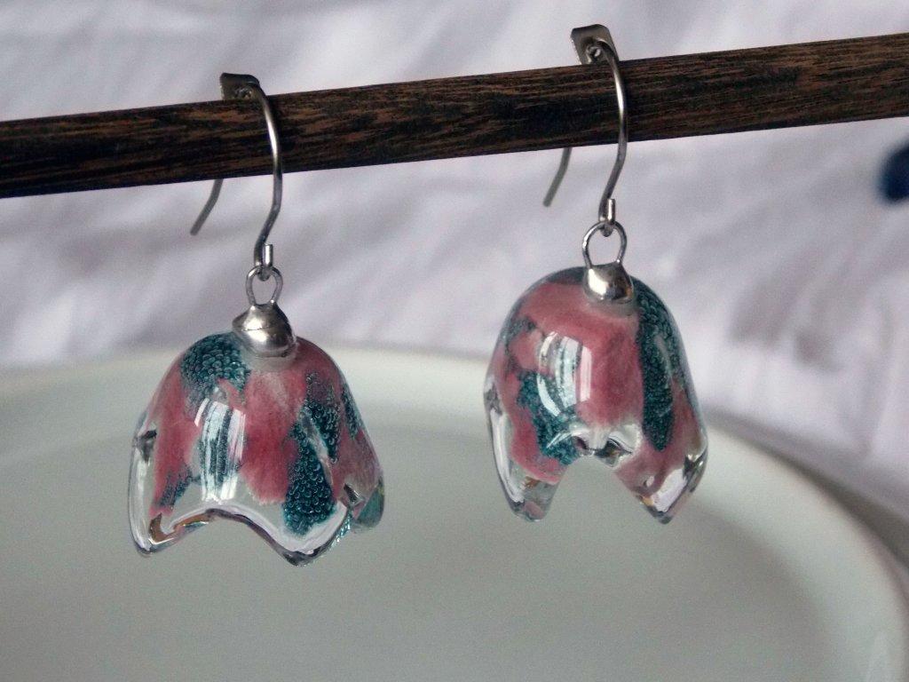 Zvonky bublinato-růžové