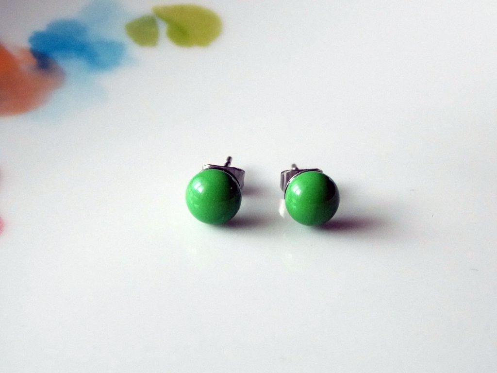 Puzetky zelené
