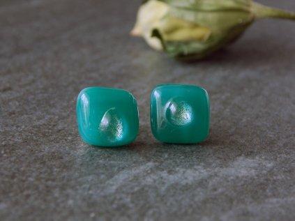 Puzetky zelenkavé s kapkou