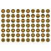 Mandala oranžovo zelená VARIANTY 70