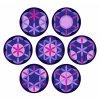 Mandaly fialová varianty