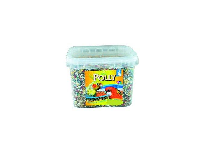 Polly střední papoušek kyblík 3 kg