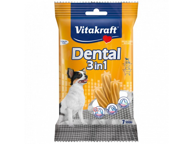 Vitakraft Dental 3in1 XS