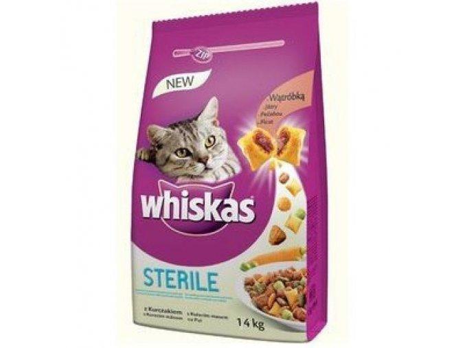whiskas sterile