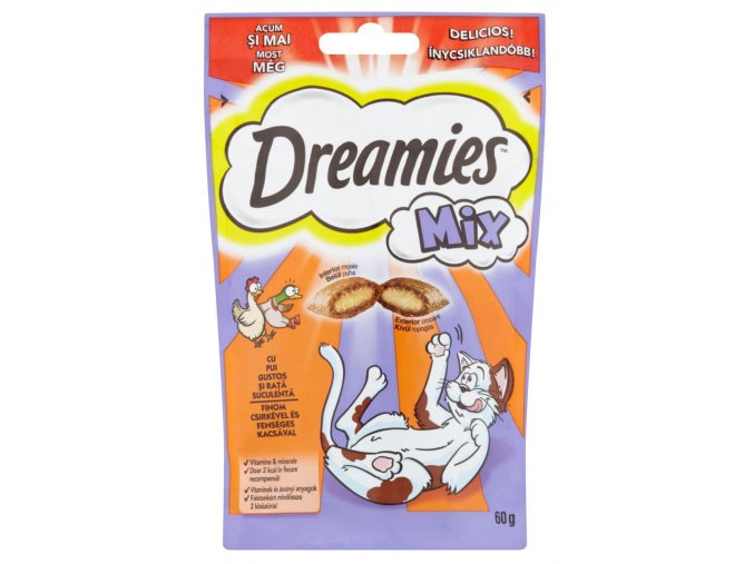 Dreamies kuře a kachna 60g