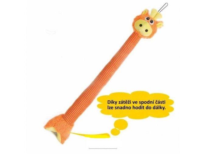 Žirafa plyš 62cm