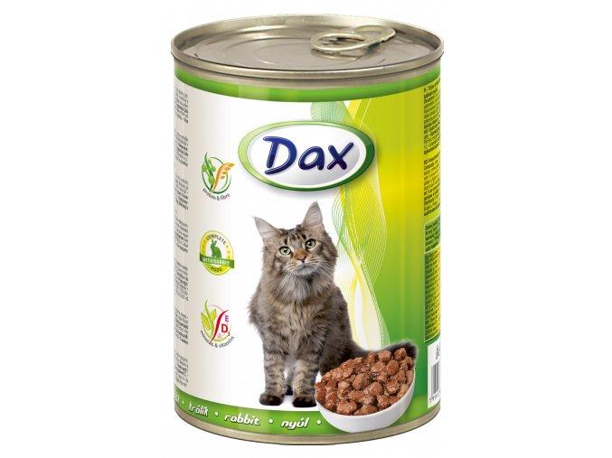 Dax 415g kousky kocka kralik