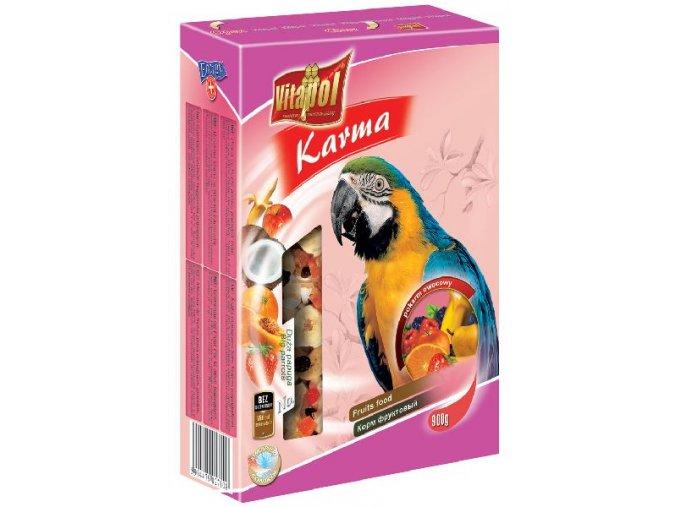 vitapol velký papoušek ovoce 750g
