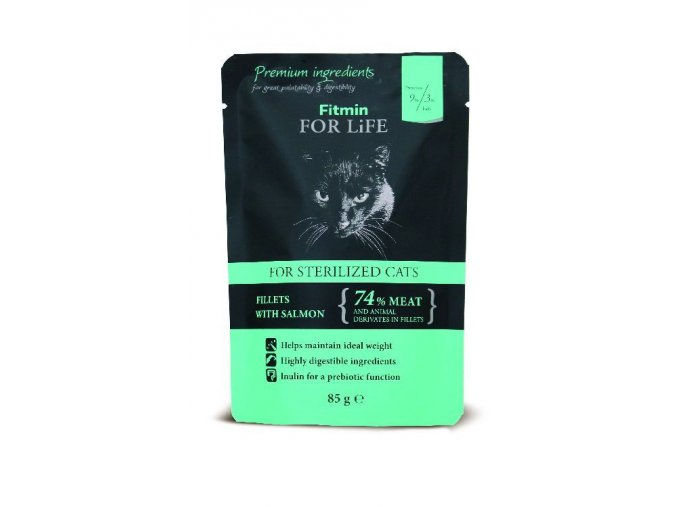 cat pouch sterilized 85g