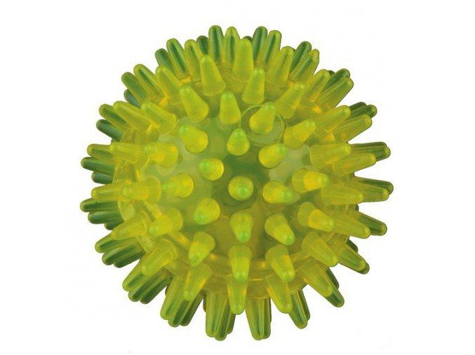 HRAČKA MÍČEK svítící, termoplast zelený