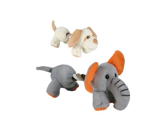 TRIXIE plyš pejsek, slon s bavlnou 17cm
