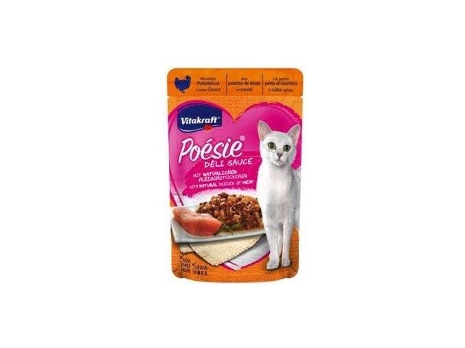 Vitakraft Cat Poésie DéliSauce kapsa krůtí 85g