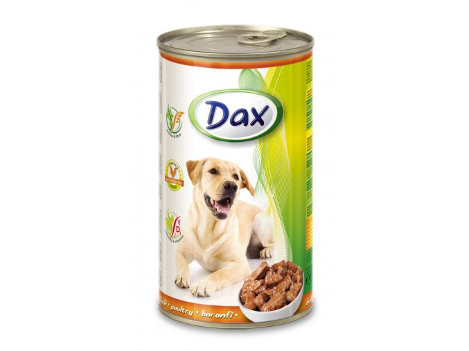 Dax 1240g kousky pes drubezi