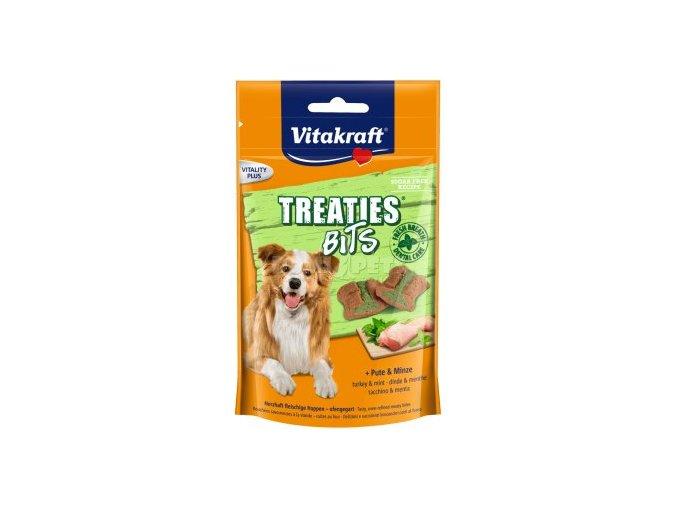Vitakraft Dog Treaties krůtí s mátou 120g