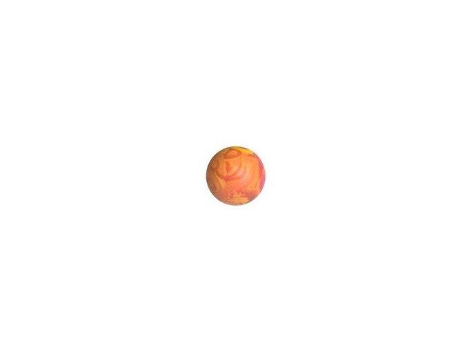 Míček TG plný vonící 6cm oranž
