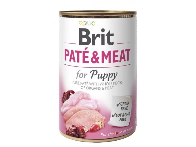 Brit Paté Meat 400g Puppy