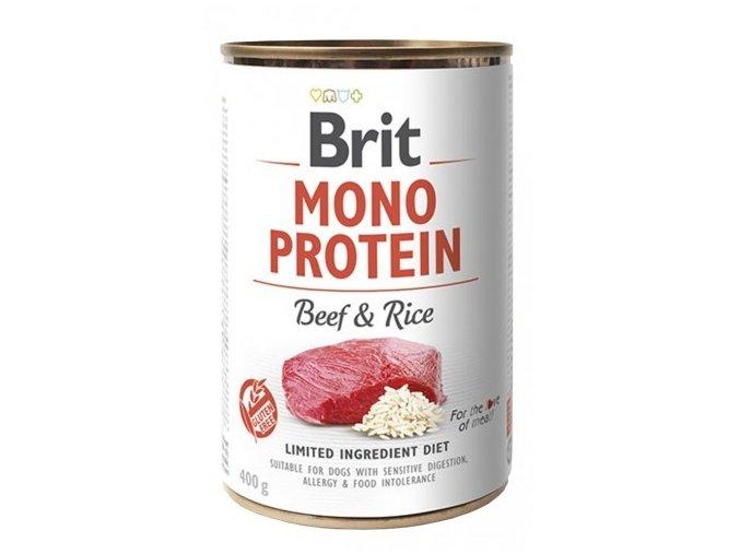 Brit Mono Protein 400g Beef Rice