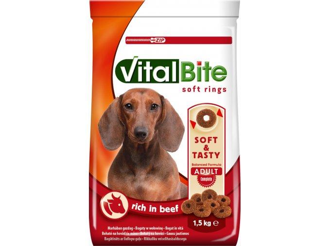 VitalBite 1 5kg semimoist s hovězím