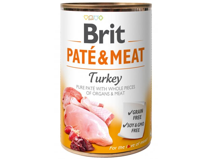 Brit Paté Meat Turkey 400g