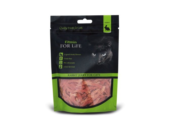 FFL dog&cat treat rabbit jerky 70g