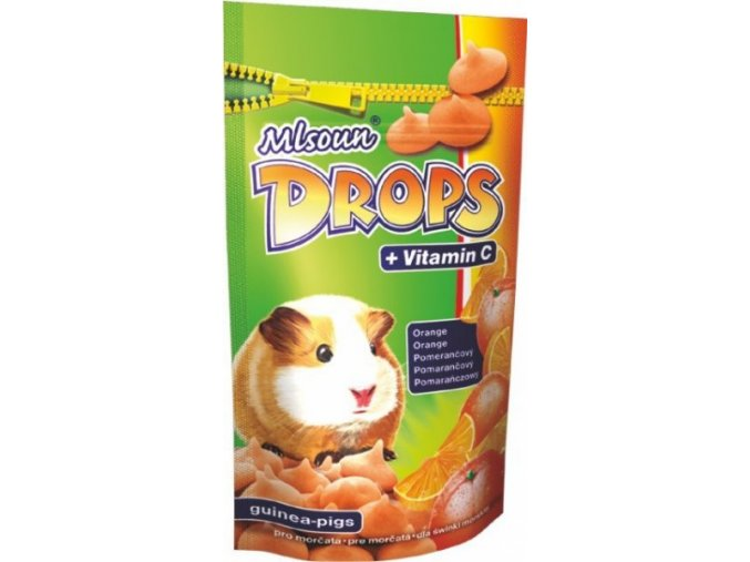 drops pomeranč