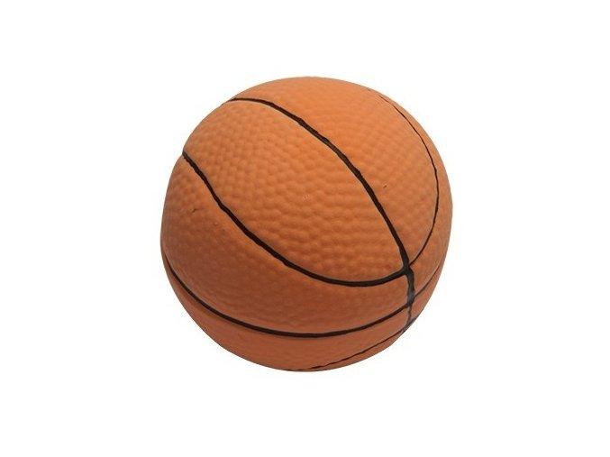 Míč latex basketball 7,3cm