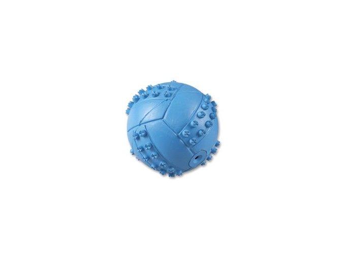 Míč modrý pískací, 6 cm