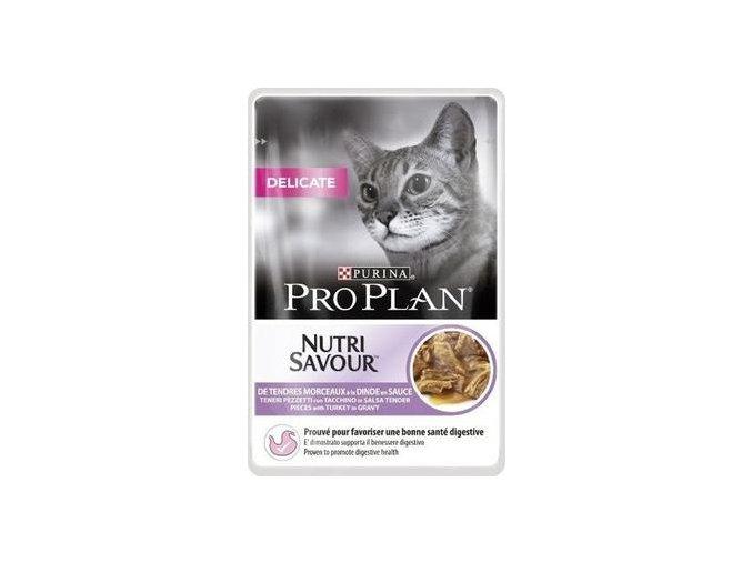 Purina Pro Plan Cat DELIKATE krůta 85 g