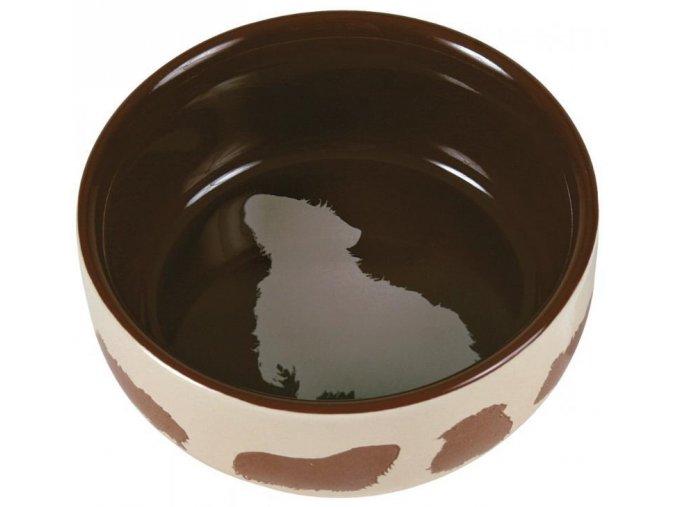 Miska (trixie) keramická pro morče barevná 250 ml,11 cm