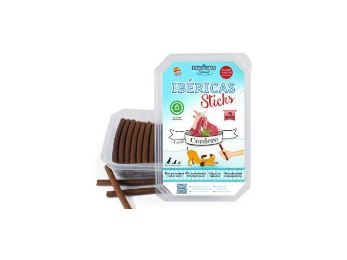 Ibéricas Sticks Lamb 900g 75ks snack for dog