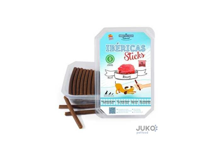Ibéricas Sticks Beef 900g 75ks snack for dog
