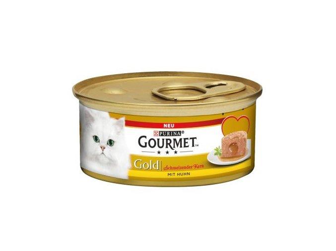 Gourmet Gold kuřecí s lahodnou náplní 85g