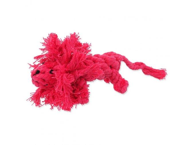 HRAČKA Dog Fantasy bavlněný lev