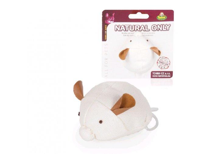 Natural Only vibrující myška, 7,5cm