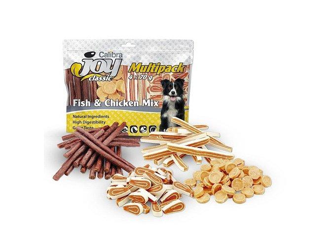 Calibra Joy Dog Multipack 4x70g Fish Chicken Mix