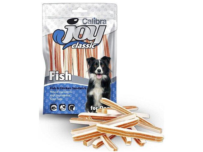Calibra Joy Dog 80g Classic Fish+Chicken Sandwich