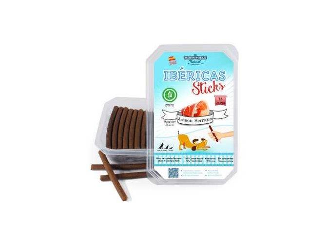 Ibéricas Sticks Serrano Ham 900g 75ks snack for dog