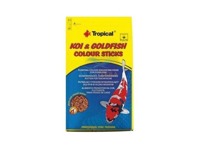 Tropical Koi Goldfish colour sticks 1l