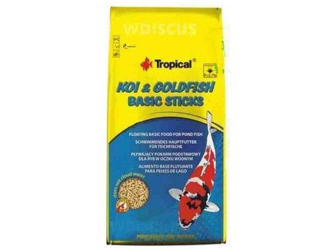 Tropical Koi Goldfish bazic sticks 1l