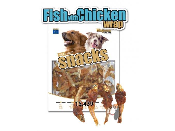 MAGNUM Fish with CHicken wrap
