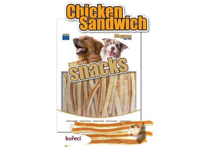 magnum soft Chicken sandwich 250g