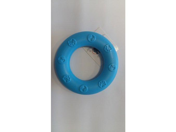 Kroužek úzký pro psy modrý TPR