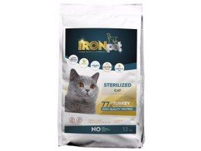 IRONpet Cat Sterilized Turkey