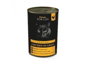 Fitmin For Life Kuřecí konzerva pro koťata 415 g