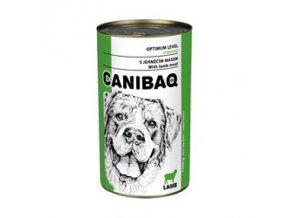 CANIBAQ Classic konzerva pes jehněčí 1250 g