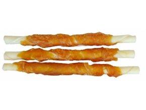 Buvolí tyčinka obalená kuřecím masem JUKO Exclusive Snacks 12,5 cm (30 ks)