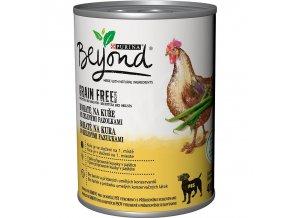 Beyond Grain Free kousky v paštice bohaté na kuře se zelenými fazolkami 400g